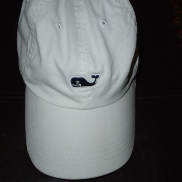 e6698416a5786 Vineyard Vines Accessories - VINEYARD VINES WHITE HAT ~ ADJUSTABLE ~ WHALE  LOGO